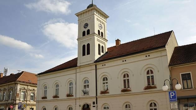 Radnice v Rosicích. Ilustrační foto.