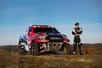 Tomáš Ouředníček představil svou Toyotu pro nadcházející Dakar.