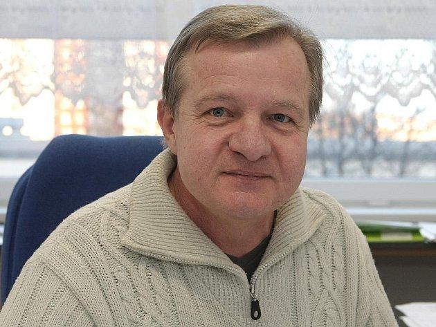 Tělocvikář Jiří Boudný z brněnské základní školy v Mutěnické ulici.
