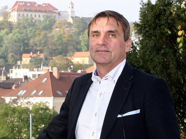 Dohodnutý budoucí primátor Brna Petr Vokřál.