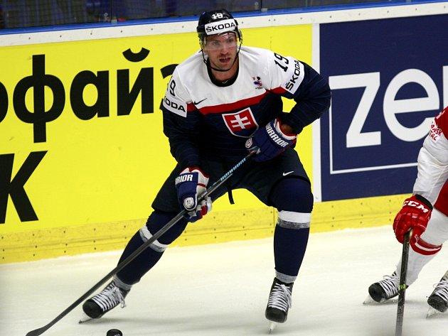 Michel Miklík v dresu reprezentace.