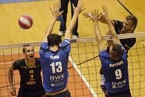 Ani ve druhém extraligovém kole si brněnští volejbalisté nepřipsali vítězství. Obhájci stříbra z minulé sezony po porážce 2:3 v Liberci prohráli stejným výsledkem také domácí střetnutí s Odolenou Vodou.