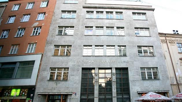 Budovu Česká televize v brněnské Běhounské ulici vydražili za 81 milionů korun, víc než dvojnásobek vyvolávací ceny. Ilustrační foto.