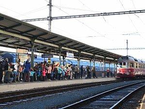 Hlavní nádraží. Ilustrační foto.