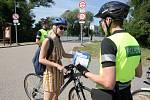 Policejní akce Prevence Tour, která je zaměřena na kontrolu jízdních kol (povinná výbava a bezpečnost na cyklostezkách a silnicích)