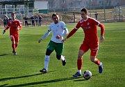 Fotbalisté Zbrojovky v předposledním přátelském kláním před startem jarní části druhé ligy remizovali na trávníku slovenské Skalice 0:0.