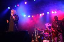 Koncert kapely Nazareth v Brně.