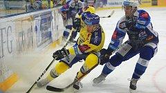Hokejisté brněnské Komety se doma postavili Beranům ze Zlína.