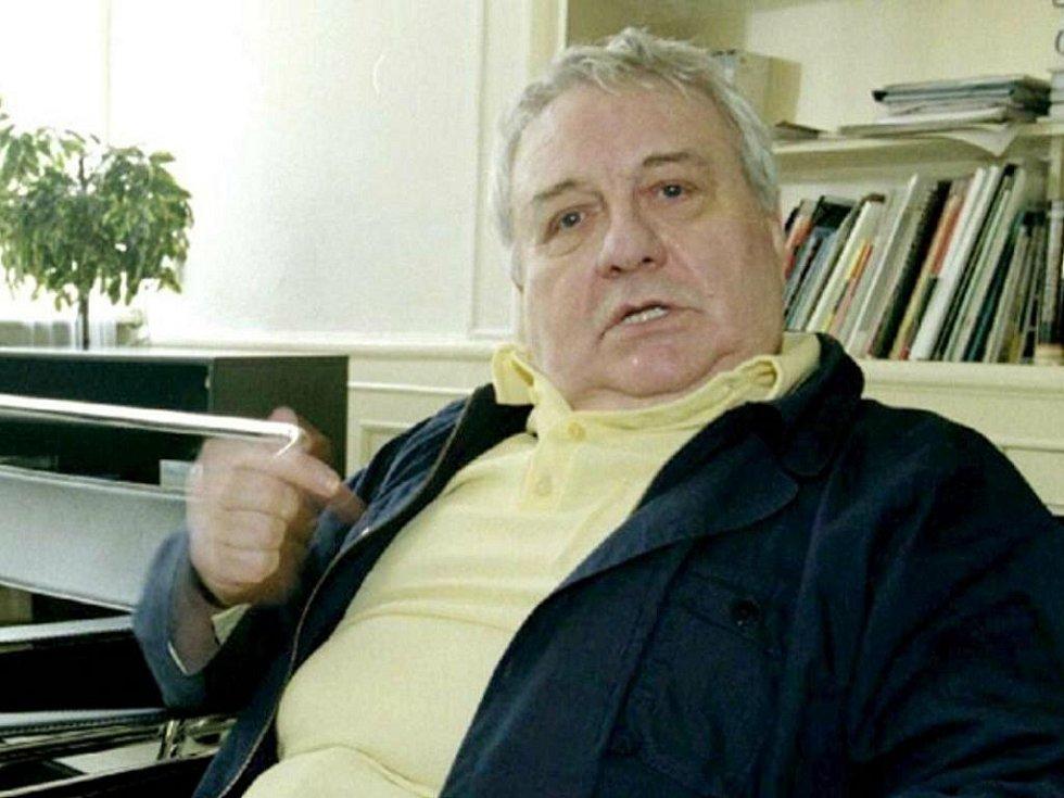 Brněnský herec Josef Karlík.