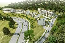 Kamenný vrch se do osmnácti let rozroste o stovky nových bytů pro více než dva tisíce lidí. První etapa má být dokončená už za pět let.