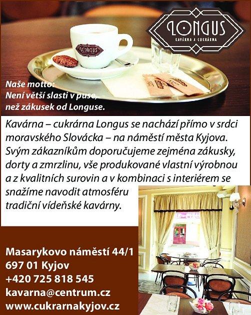 10. Kavárna Longus Kyjov