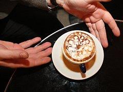 Lidé v Brně mohli vidět kávové umění
