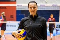 Milada Bergrová obnovila volejbalovou kariéru.