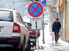 Zcela bez aut a později také bez tramvají. Tak má od příštího týdne vypadat ulice Milady Horákové v Brně.