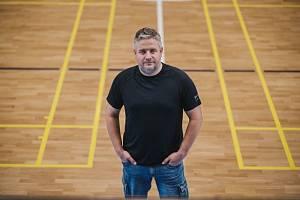 Kandidát na předsedu Řídící komise fotbalu pro Moravu Oldřich Racek.