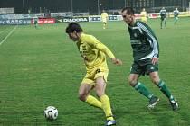 Michael Rabušic ve žlutém jihlavském dresu