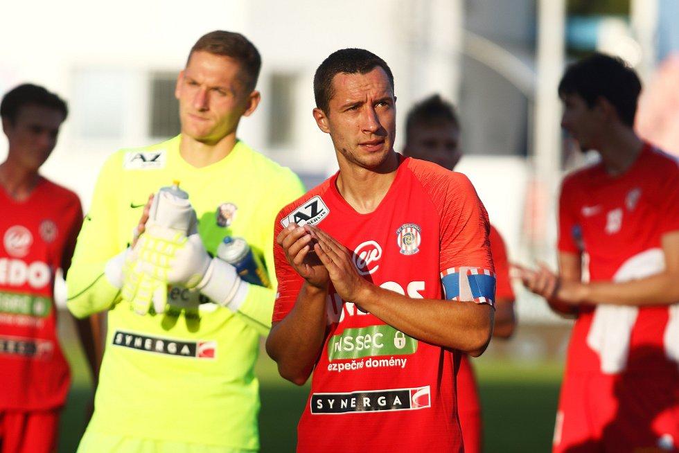 4. kolo FORTUNA:LIGY: FC Zbrojovka Brno - SK Sigma Olomouc 2:4.