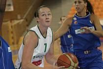 Basketbalistka Amber Spragueová.