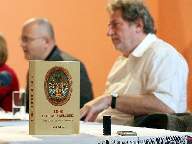 Oslavná kniha rodu Belcredi - Ludvík Belcredi.
