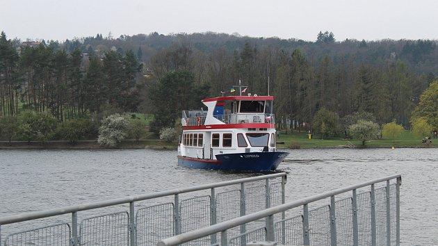 Slavnostní zahájení 73. plavební sezony na Brněnské přehradě