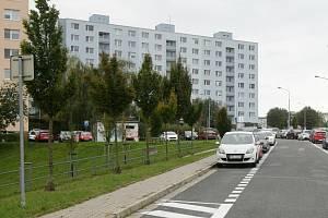 Brno -  Bystrc. Panelák. Ilustrační foto.