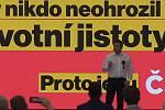 Česká strana sociálně demokratická zahájila na brněnském výstavišti ostrou fázi kampaně před říjnovými volbami do Sněmovny.