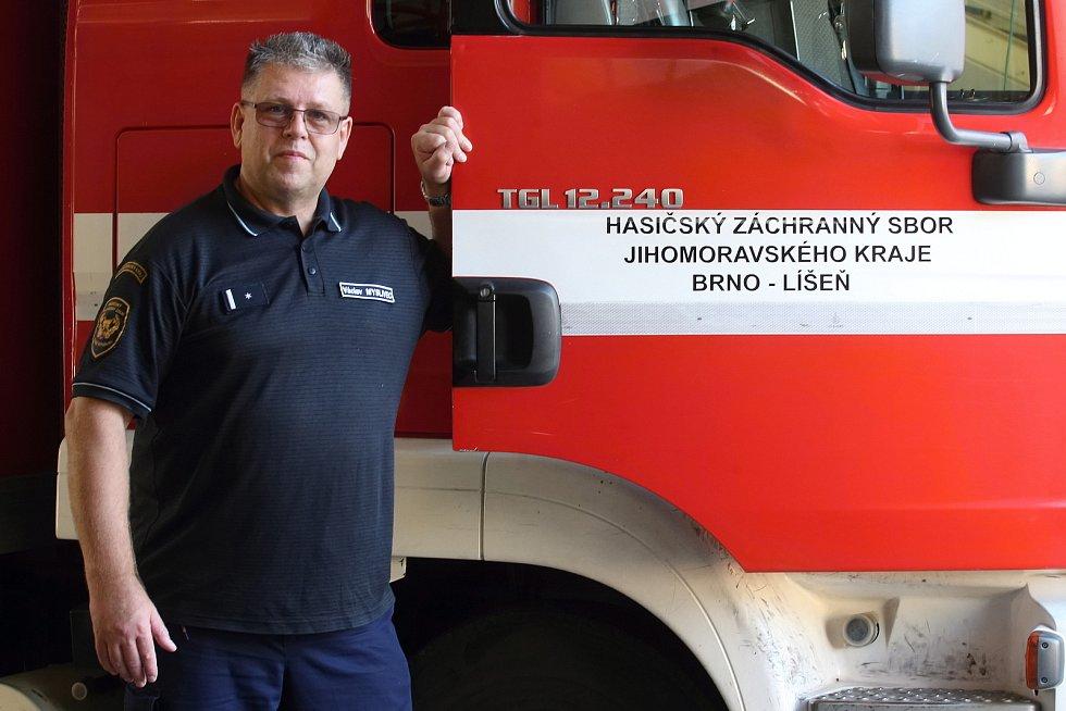 Brno 22.10.2019 - Rozhovor na konci týdne s Václavem Myslivcem z HZS JMK Brno - Líšeň