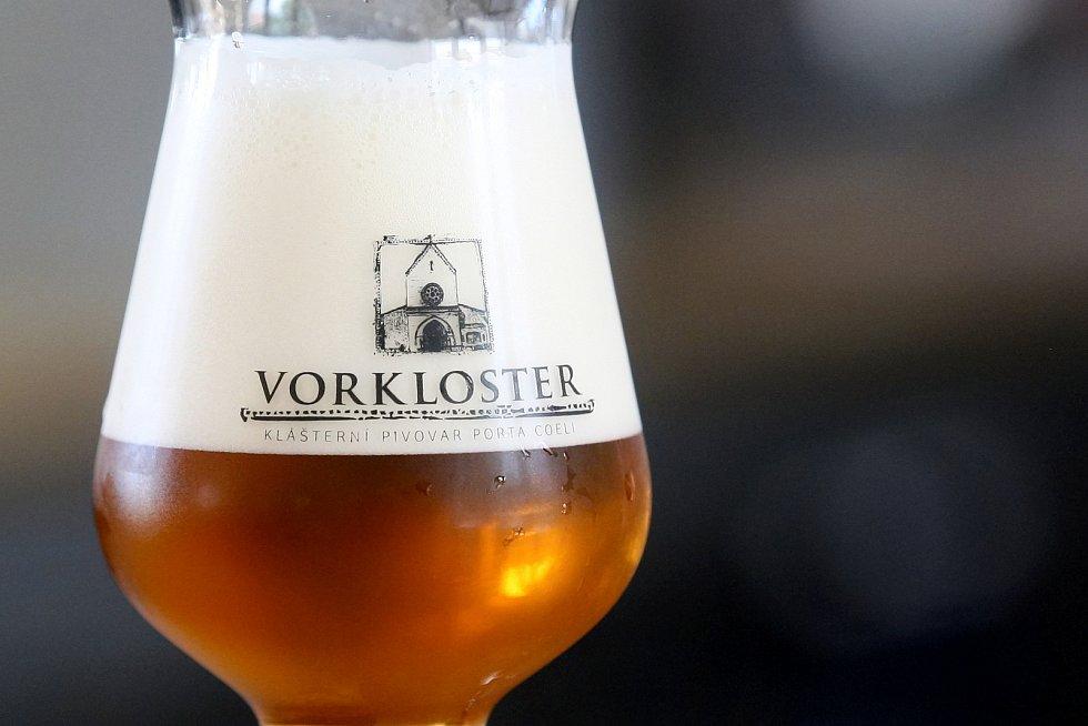 Otevření Klášterního pivovaru Porta Coeli v Předklášteří na Brněnsku.