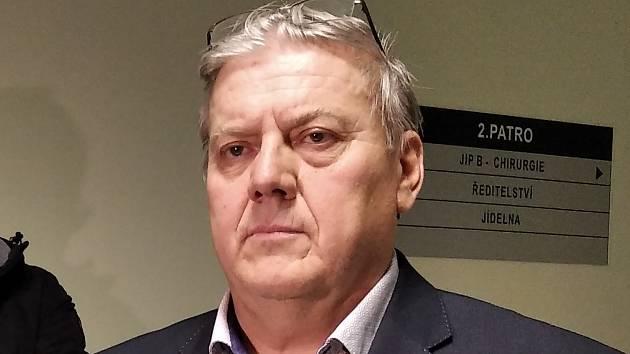 Ředitel Úrazové nemocnice Brno Zdeněk Buštík.