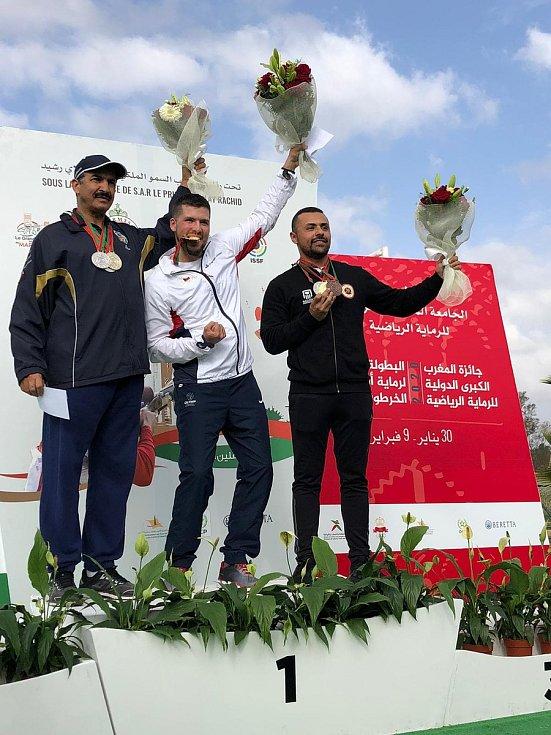 Vítězný Jakub Tomeček za sebou nechal kuvajtského a egyptského střelce.