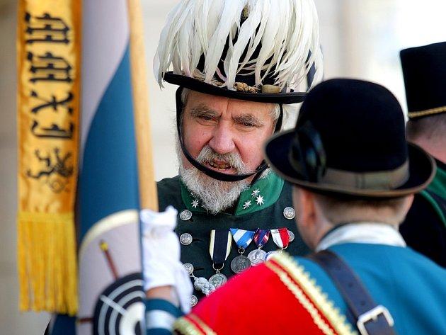 Lidé v Brně vzpomínali na císaře Franze Josefa.