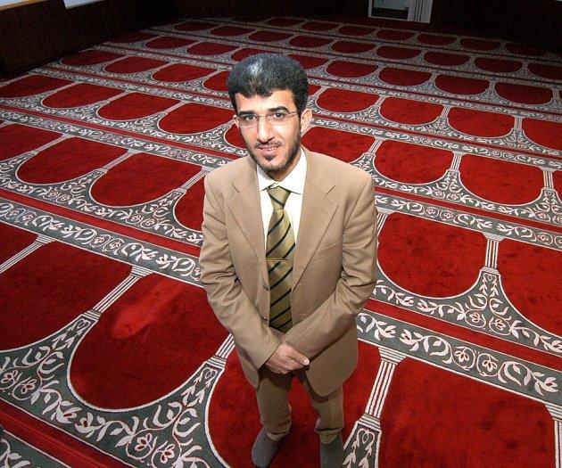 Předseda brněnské muslimské obce Muneeb Hasan Al Rawi