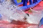 V Brně se uskutečnil druhý ročník akce Slide Czech, která se bude postupně konat ve více než deseti městech v České republice. Návštěvníci s nafukovacími kruhy nebo lehátky pod paží se přišli osvěžit na více než tři sta metrů dlouhou vodní skluzavku.
