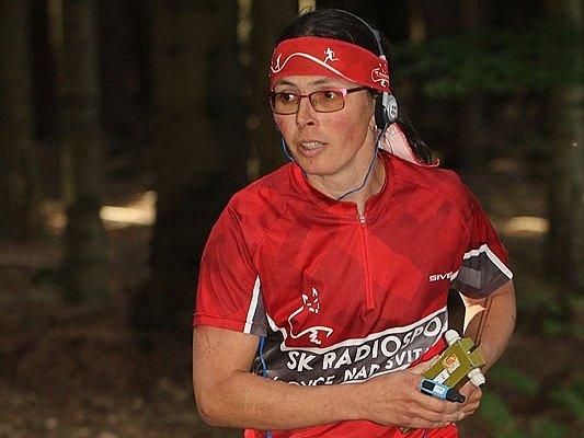 Radiová orientační běžkyně Pavla Hažmuková