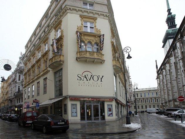 Brněnská kavárna Savoy.