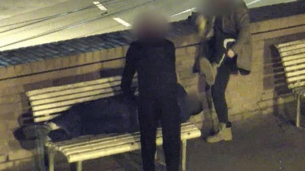 Pětatřicetiletý muž usnul na lavičce v brněnském parku na Baštách, toho využili kolem druhé hodiny v noci dva mladíci ve věku devatenácti a dvaceti let. Začali mu prohledávat kapsy, zatímco třetí mladý muž postával poblíž.