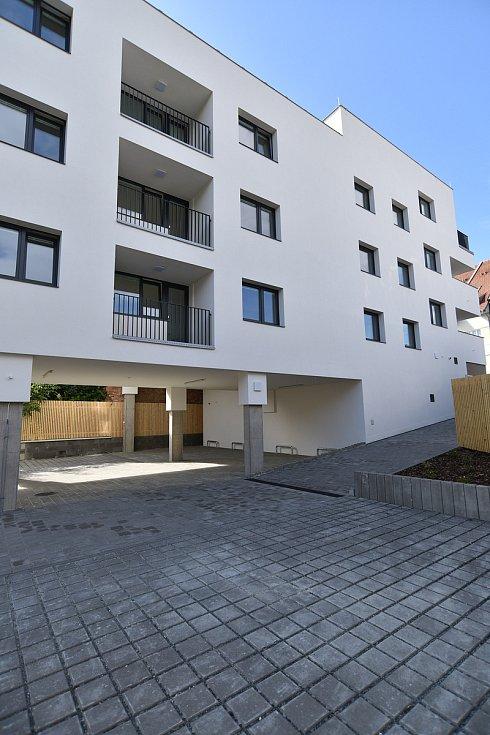 Bytový dům Valchařská 14 v brněnských Husovicích.