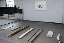 Výstava Nic z tvorby Petra Veselého v brněnské Wannieck Gallery.