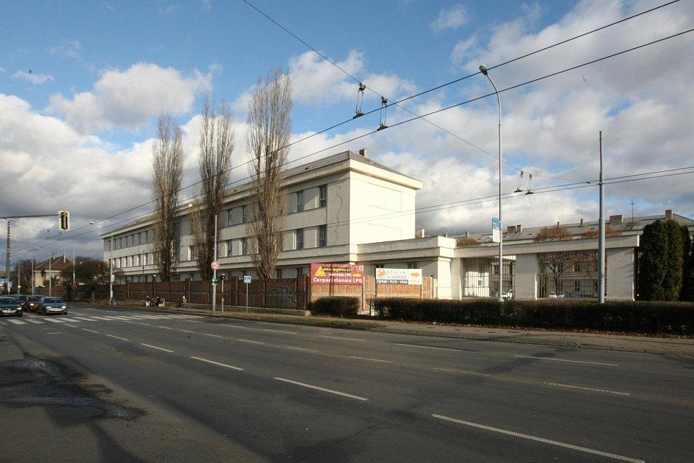 Židenická kasárna v Brně.