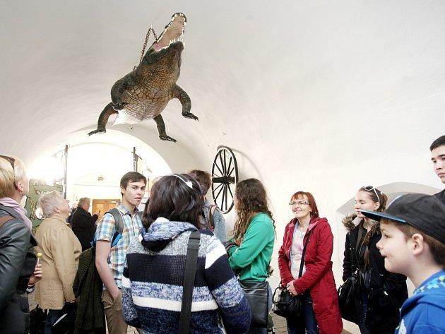 Turistické informační centrum na nádvoří brněnské Staré radnice v deset hodin dopoledne zahájilo turistickou sezonu.