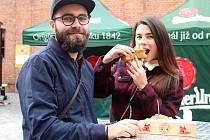 První ročník Food Truck Festivalu se konal od pátku do neděle u brněnské Galerie Vaňkovka.