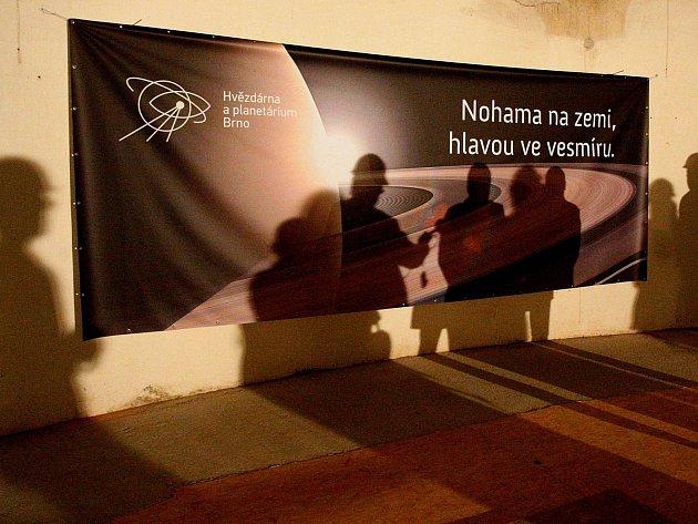 Rekonstrukce ve velkém planetáriu brněnské hvězdárny