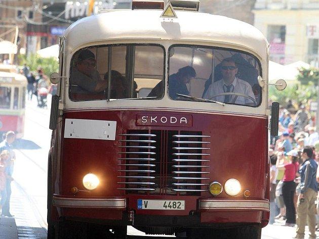 Brněnský dopravní podnik ovládl náměstí Svobody.