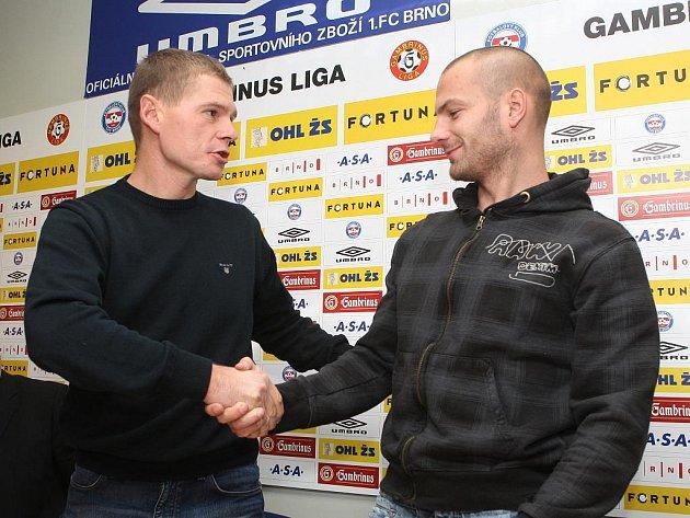 Roman Pros s Tomášem Doškem.
