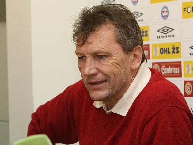 Trenér Miroslav Beránek.