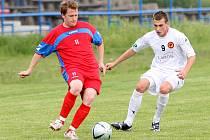 Jakub Hanuš v zápase proti Brnu