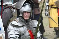 ILUSTRAČNÍ FOTO: středověká bitva v Modřicích.
