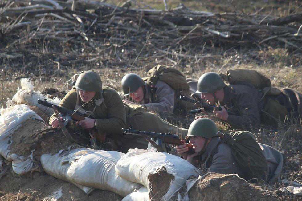 Bitvu u Narvy v roce 1944 si v sobotu připomněli v Army Parku v Ořechově na Brněnsku.