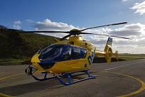 Vrtulník, který od ledna poslouží letecké záchranné službě na jihu Moravy.