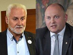 Bohumil Šimek (Hnutí ANO) vs. Michal Hašek (ČSSD).